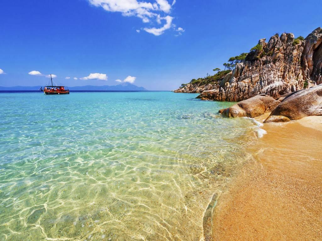 Strand, Griechenland