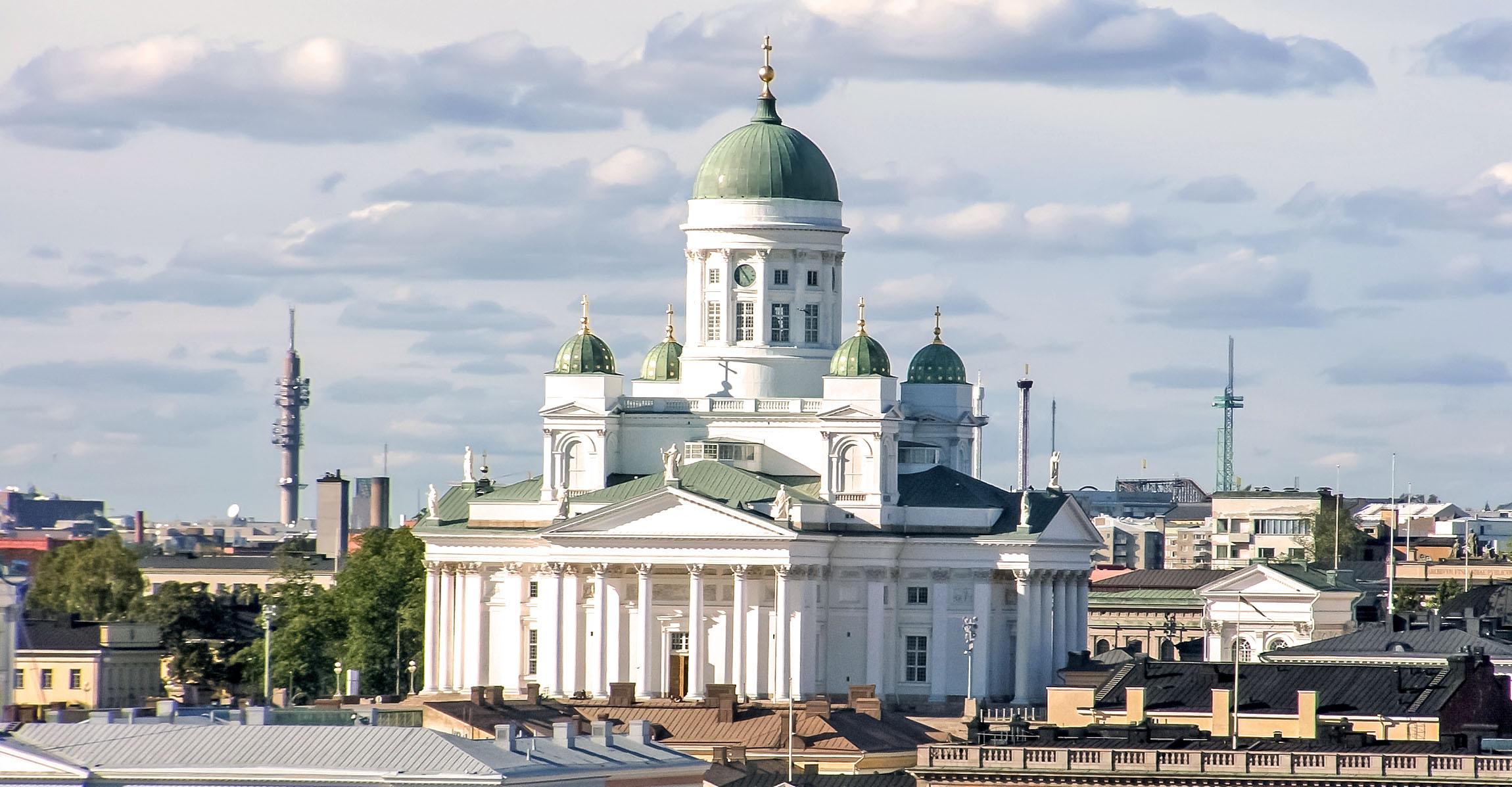 Kathedrale von Helsinki, Finnland