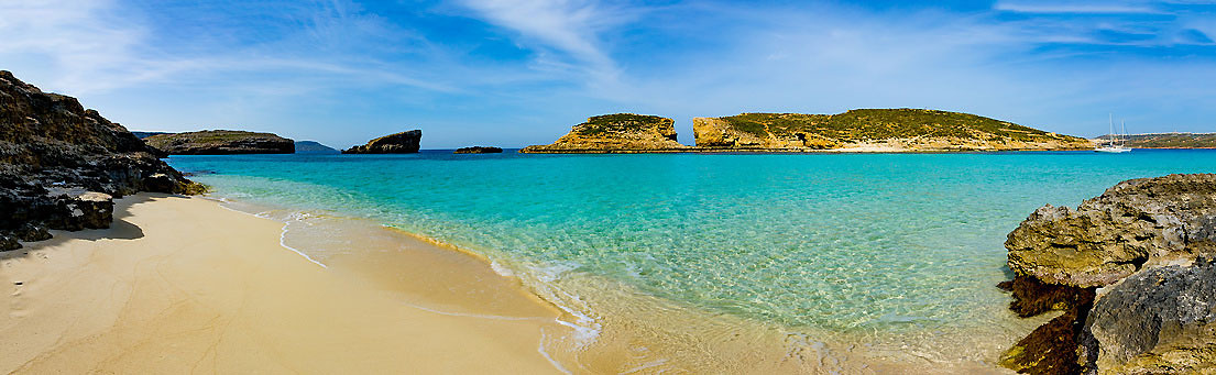 Traumstrand: die Blaue Lagune auf Maltas kleiner Schwesterinsel Comino