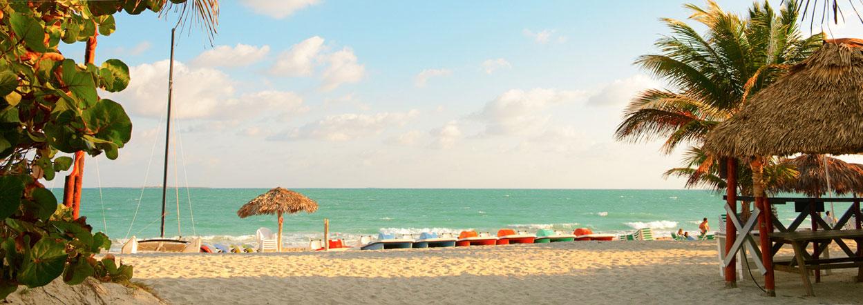 Karibisches Glück: Strand in Varadero