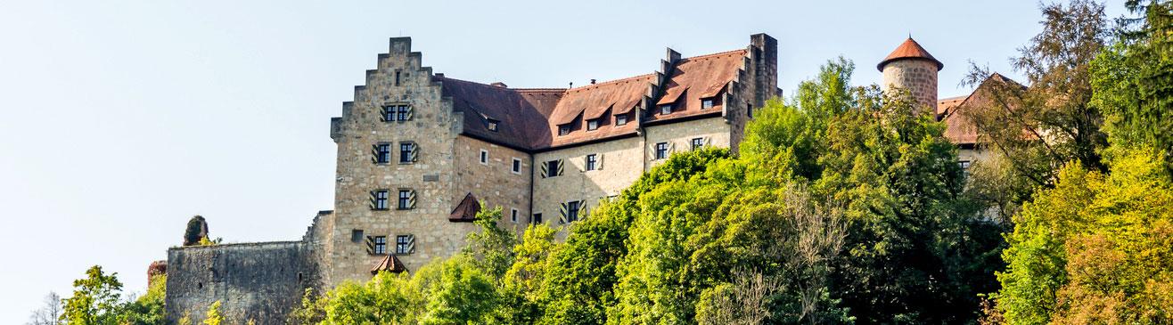 Burg Rabenstein in der fränkische Schweiz.