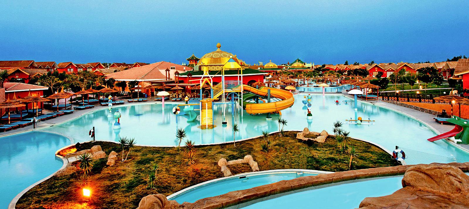 Im Albatros Aqua Park sind Fun und Action garantiert.