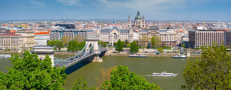 Das wunderschöne Stadt-Panorama vom Sessellift aus