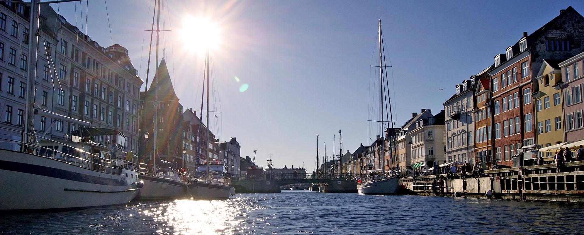 Beliebter Treffpunkt in Kopenhagen: der Nyhavn