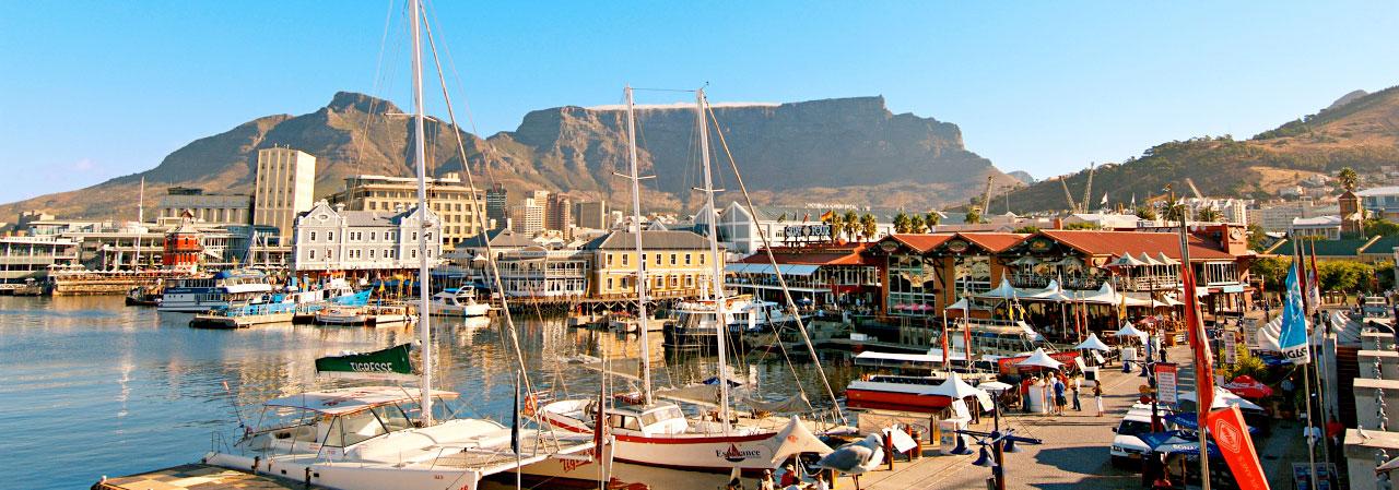 Einkaufen, flanieren, essen & trinken: Die Waterfront in Kapstadt