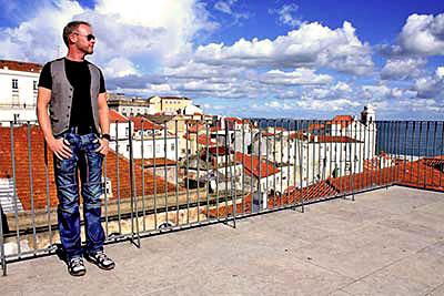 Aussichtspunkt Miradouro das Portas do Sol, Lissabon