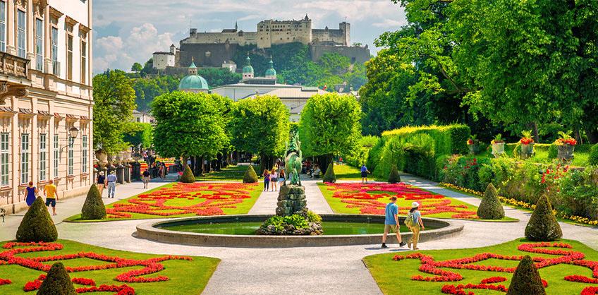 Blühendes Salzburg