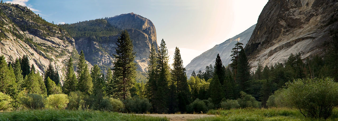 Natur pur im Yosemite Nationalpark