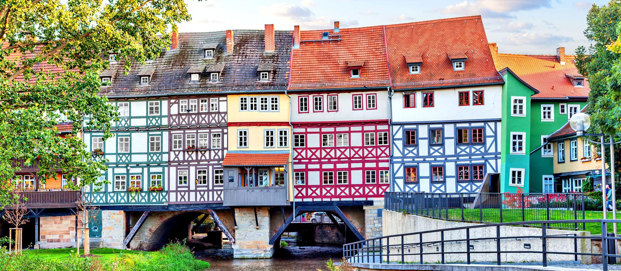 Kramerbrücke in Erfurt