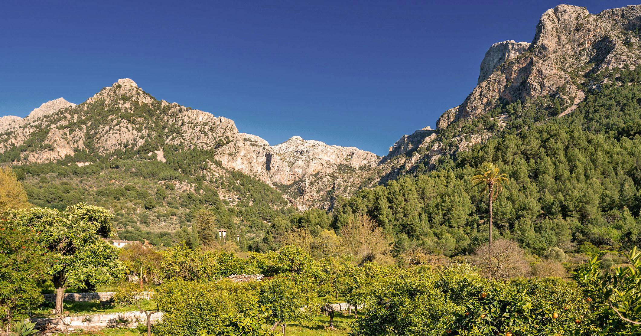 Lass dich von der Serra de Tramuntana verzaubern.