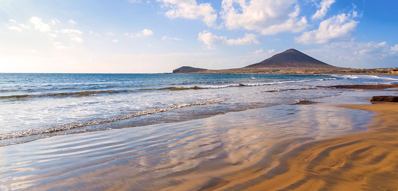 "Bezaubernder Blick auf den ""Playa del Médano"""