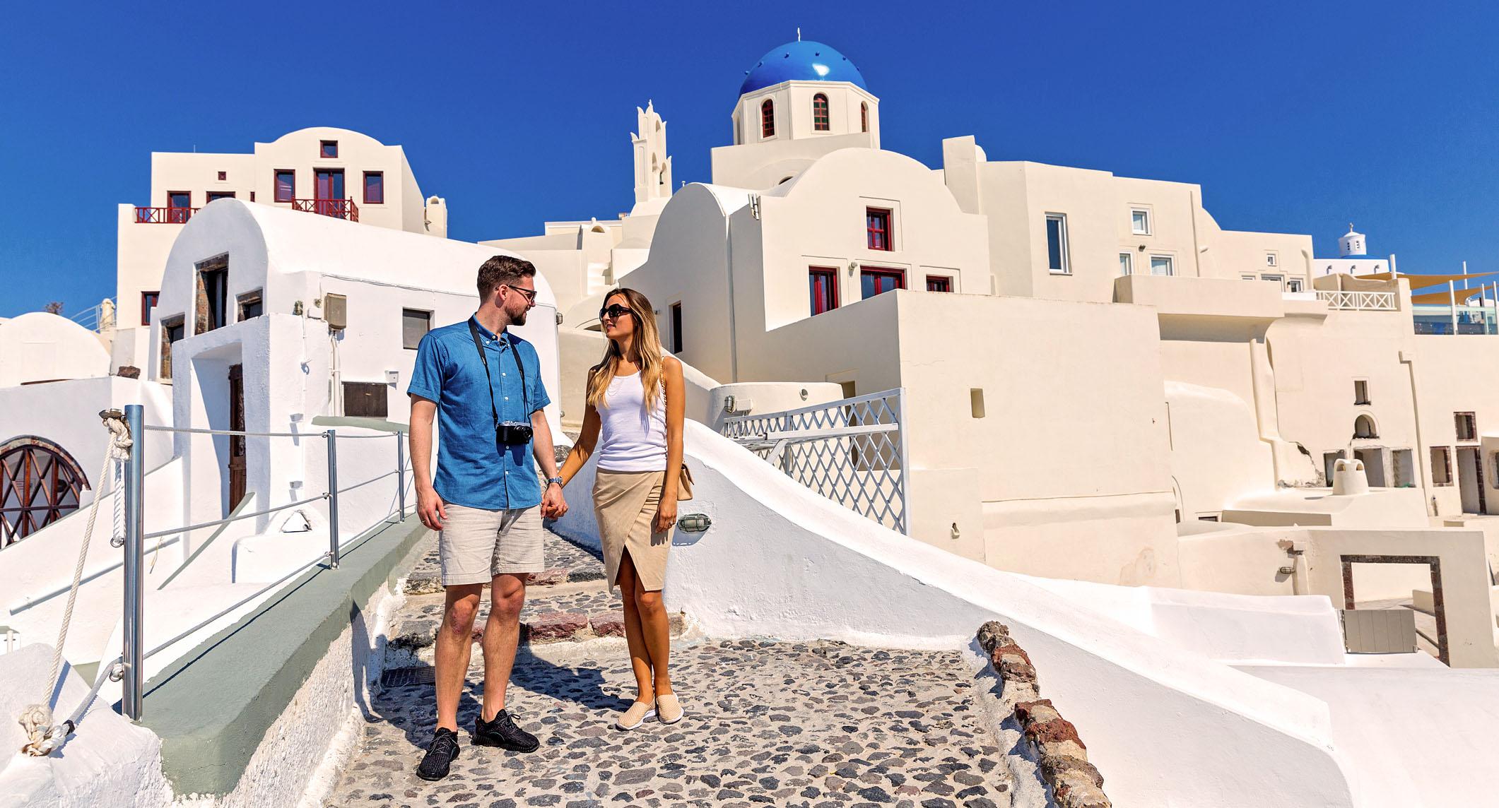 Flitterwochen in Griechenland