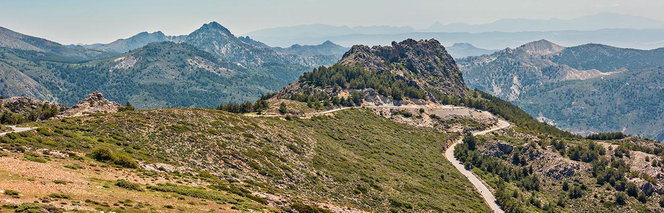 durch den Sierra Nevada National Park