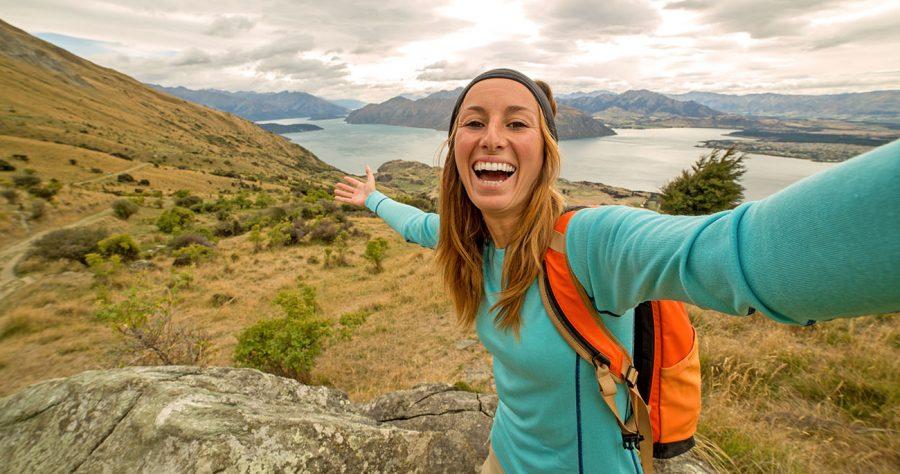 Das Selfie wird zu Deinem ständigen Begleiter - Neuseeland